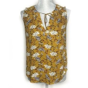 Old Navy Tank Top Sleeveless Floral Laced (BB5)